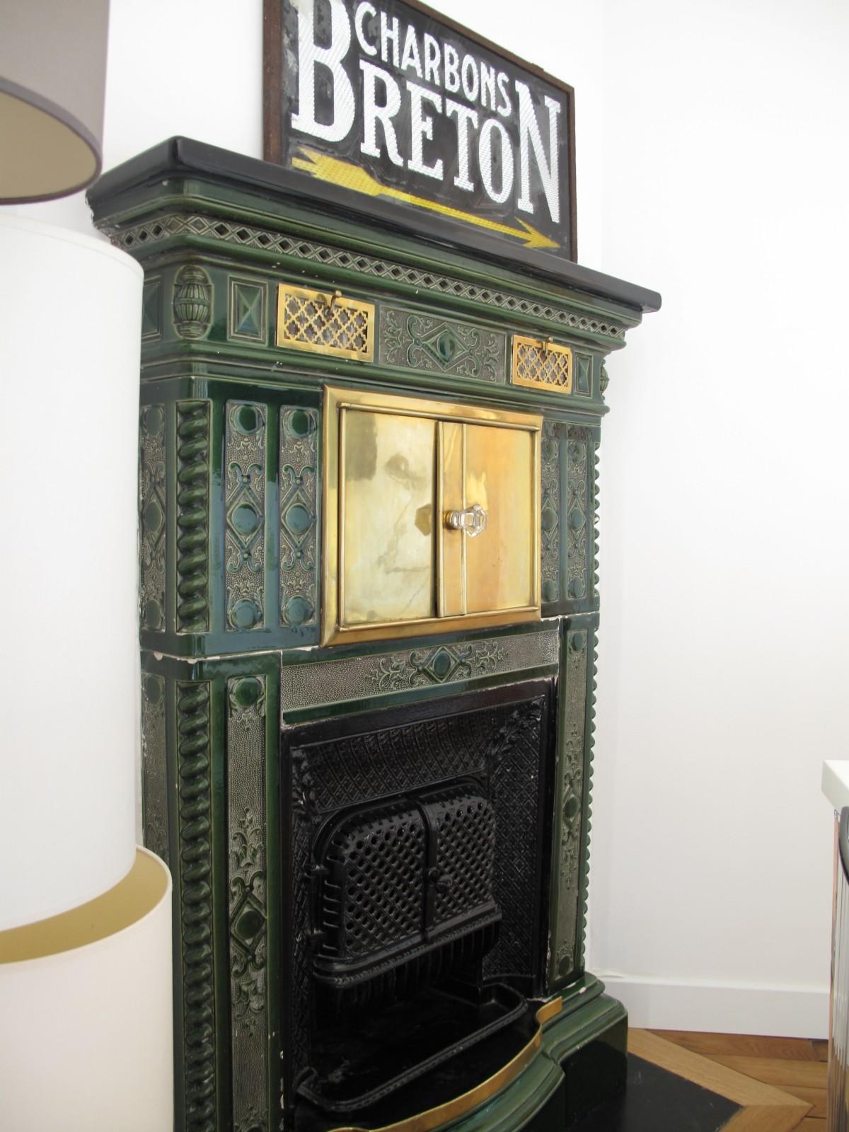 pose d 39 un po le prussien chin pour les besoins du client travaux de r novation dans le 75 78. Black Bedroom Furniture Sets. Home Design Ideas