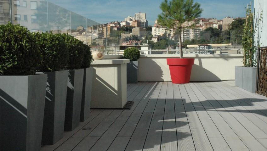 C 39 est d cid je r am nage ma terrasse en ville r novation isolation mur porteur - Ma terrasse en ville ...