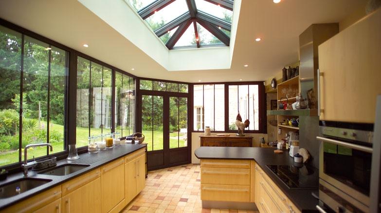 J 39 ouvre mon horizon avec une v randa r novation for Cuisine ouverte sur veranda