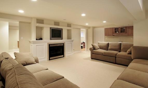 je transforme mon sous-sol en pièce de vie confortable